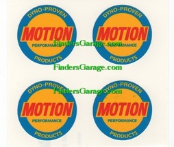 "MOTION PERFORMANCE ""WHEEL CENTER"" DECAL SET  ""S... - $12.99"
