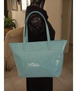 KATE SPADE SMALL HARMONY METRO SPADE ADRIATIC BLUE ZIP TOTE WKRU1878 BAG NWT - $103.00