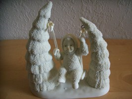 "Dept. 56 1996 Snowbabies ""When the Bough Breaks"" Figurine  - $45.00"