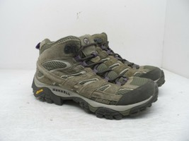 Merrell Women's Moab 2 Mid Ventilator Hiking Trail Boot Bracken/Purple Size 6M - $85.49