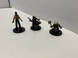 Star Wars Miniatures RPG lot of 3 -DUROS SCOUNDREL, Noghri Commando, Ewo... - $14.84