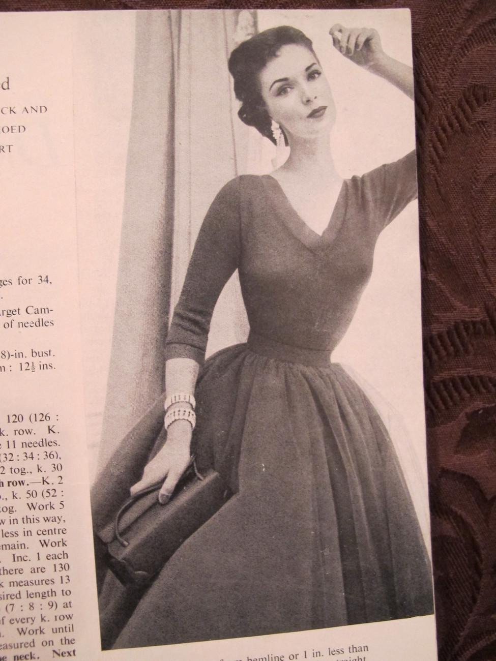 Vintage 30 VOGUE Knitting Crocheting Patterns Sweaters Dress Coats Blouse ADULTS