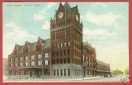 DETROIT MICHIGAN Union Depot MI 1912 BJs - $10.00