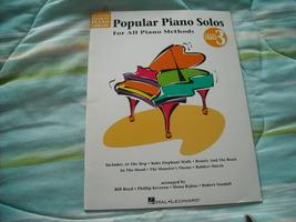 Popular Piano Solos - $6.00