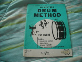 Elementary Drum Method by Roy Burns  - $7.00