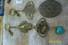 # purse jewelry bronze color keychain backpack  dangle charms #16 lot of 3 image 5