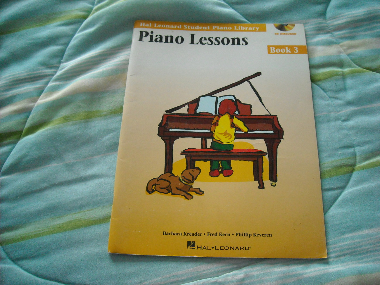 Piano lessons book 3