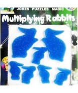 Multiplying Sponge Rabbits Magic Trick - Blue - A Classic - Great For Be... - $6.95
