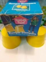 VTG 1979 NOS Hasbro Stomper Romper Room Stilts Walking Cups  WITH ORIGIN... - $24.70