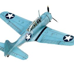 Academy 12335 USN SBD-2 Battle of Midway Plamodel Plastic Hobby Model Airplane image 3