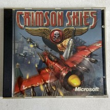 Crimson Skies Microsoft Windows PC CD-ROM Zipper Interactive - Flight Simulator - $14.84