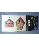 Imperial Instant Stencils Birdhouses 12 Sheets Rub On - $8.99