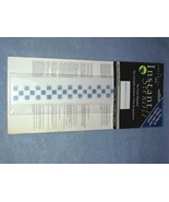 Imperial Instant Stencils Blue Checked 12 Sheets Rub On - $6.99