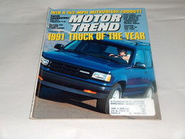 Motor Trend 1991 Car Vehicle Magazine 1991 Truck Of The Year Mazda Nav - $9.09