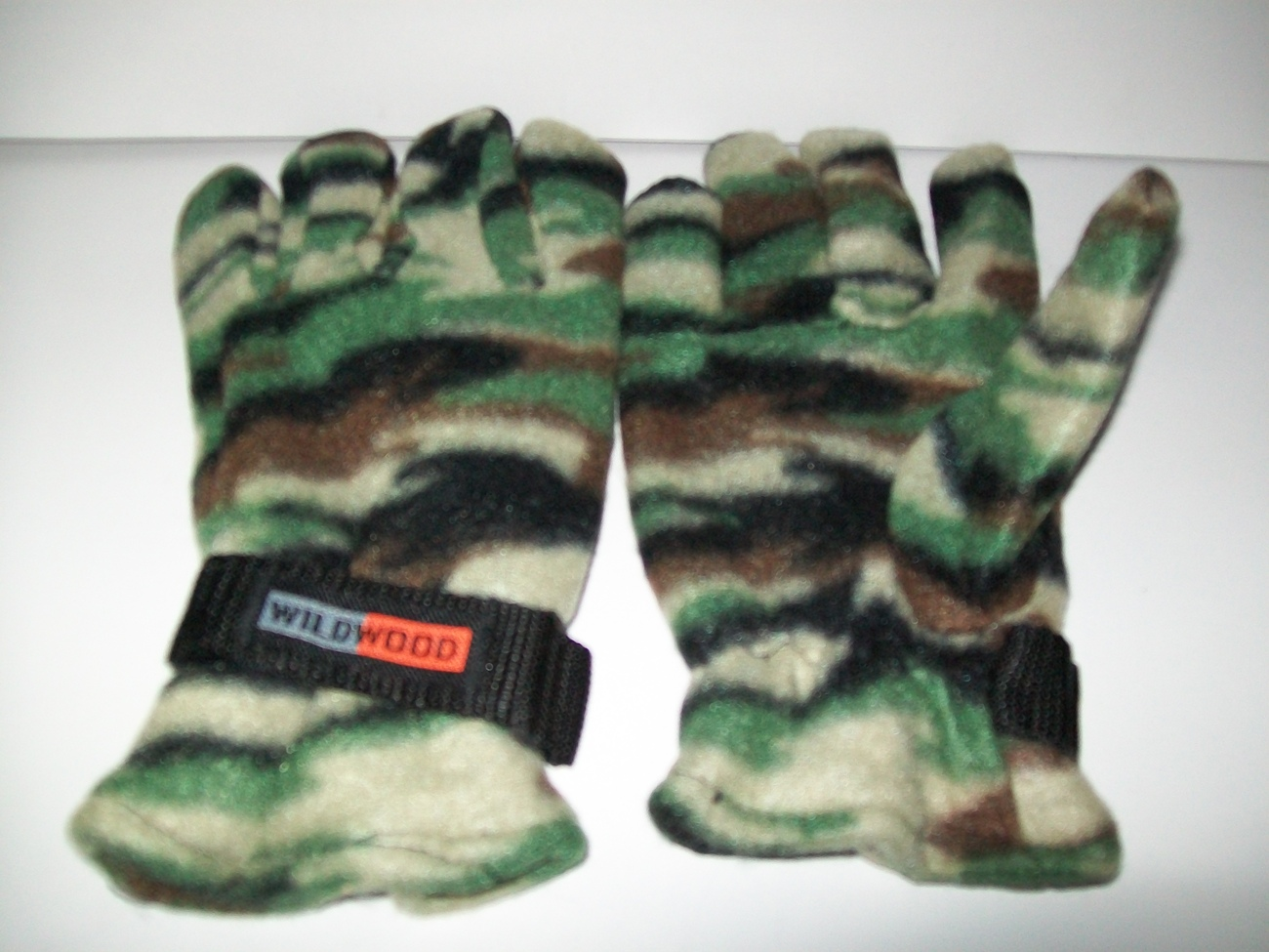 !!!!!! Fleece Camouflage Gloves-Large !!!!!!!