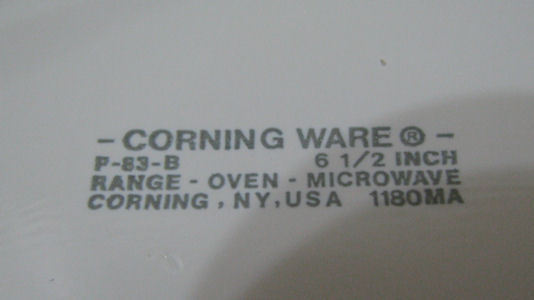 Corning Ware Wildflower 6.5 inch Skillet Pan P-83-B