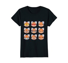 T-SHIRT - RED PANDAMOJIS - EMOJI FUNNY SHIRT - $19.99+