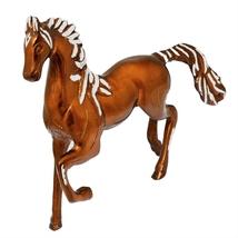 Hand Crafted Metal Horse Showpiece Figurine - 12.5 Inch - Handicraft Dec... - $87.99