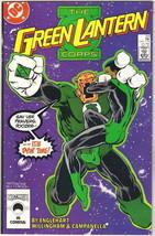 The Green Lantern Corps Comic Book #219 DC Comics 1987 VERY FINE+ NEW UN... - $3.25