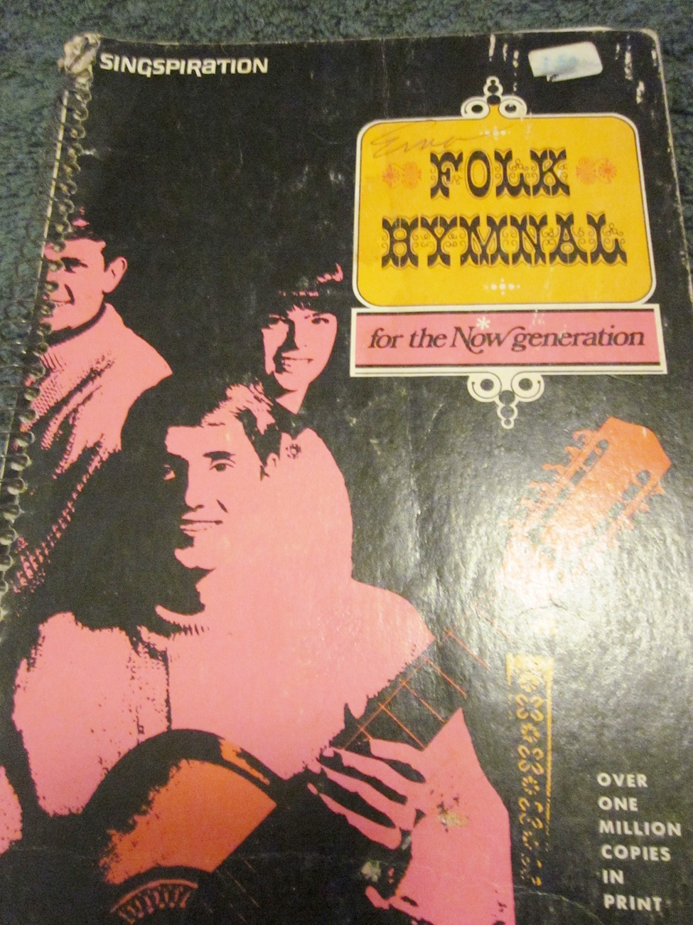 Singspiration Folk Hymnal For The New Generation 1974