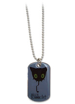 Blue Exorcist Coal Tar Dog Tag Necklace GE80545 *NEW* - $13.99
