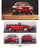 1997 Ford SVT MUSTANG COBRA sales brochure sheet US 97 - $9.00