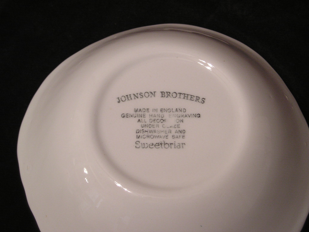 Johnson Brothers Sweetbriar Cereal Bowl