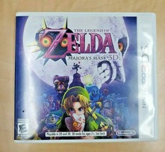 The Legend of Zelda: Majora's Mask 3D (Nintendo 3DS, 2015) - $30.00