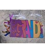 I Love My Grandkids WordBook Memory Album Handmade - $24.00