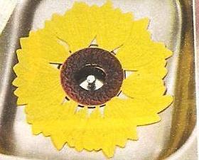 Sunflower Decor Kitchen Sink Mats 2 Piece Set