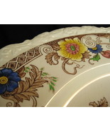 "DINNER PLATE - ROYAL CAULDON - ""BENTICK"" (X2279) - $30.00"