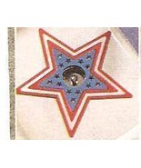 Patriotic Star  Decorative Plastic Sink Liners  Set of Two - $12.99