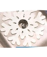 Snowflake  Decorative Plastic Sink Liners  Set of Two - $12.99