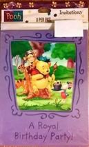 Winnie the Pooh, A Royal Birthday Party! Invitation, 8ct - $4.90