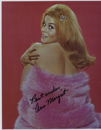 Ann Margret Real Hand Signed Autographed Photo! Posing Sexy for you!