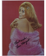 Ann Margret Real Hand Signed Autographed Photo! Posing Sexy for you! - $59.99