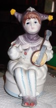 Schmid Jester Music Box signed - $14.95