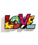 """Romero Britto the word """"LOVE"""" Table Shelf Decor - $39.59"""