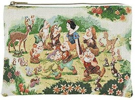 Disney Snow White Pouch Gobelins FOLK WOOD LAND Seven dwarfs bag Pochett... - $52.47