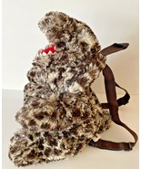 """Pillow Pets Dinosaur Stuffed Animal Brown Spotted Plush 28"""" Kids Backpack - $18.54"""