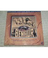 Laserdisc 5 Disc Box Set of BEN-HUR with Charlton Heston - $20.00