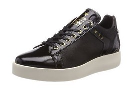 Trainers Glitter 7 Black Pantofola UK Womens Donne Low Lecce Black d'Oro qxaFO