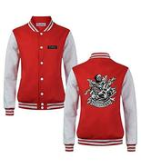 Classic Embroidery Unlimited Rock Baseball Bomber Jacket Uniform for Spr... - $50.04