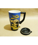 I Can Fix Anything Wheres the Duct Tape Comic Funny Ceramic Mug with Rub... - $29.99