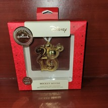 2009 Hallmark Ornament Mickey Mouse 2019 Premium. MIB - $28.04