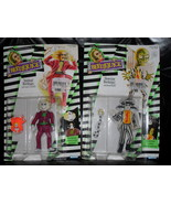Vintage 1989 Spinhead Beetlejuice & Showtime Beetlejuice Carded Figures - $34.99
