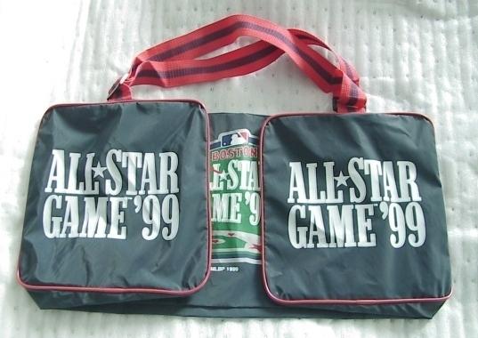 MLB All Star Game '99 Duffle Gym Bag Boston Fenway Park
