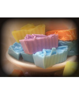 soap samples. a Dozen goats milk soap. - $24.00