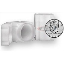 CoinSafe Square Half Dollar Coin Tubes (Qty = 5 Tubes)  - $6.95