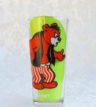 Pepsi-Collector-Series-Barney White Lettering MGM 1975 Glass Tumbler - $12.75